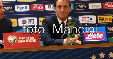"Euro 2020, domani Liechtenstein-Italia. Mancini: ""Obiettivo è essere testa di serie"""