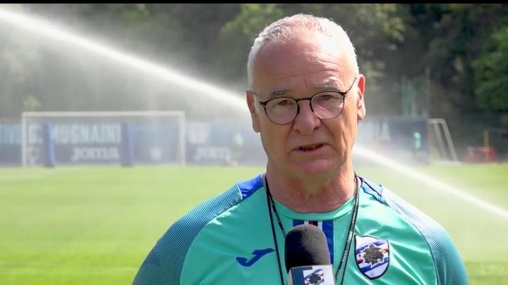Ranieri strizza l'occhio alla ripresa